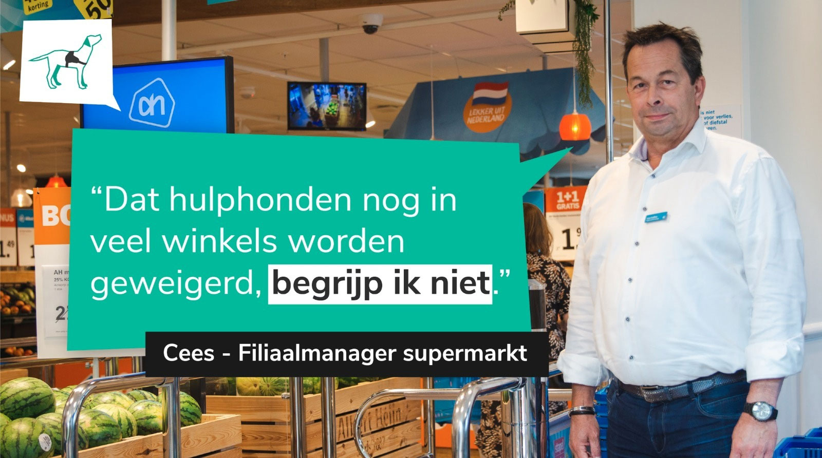 supermarkt hulphond